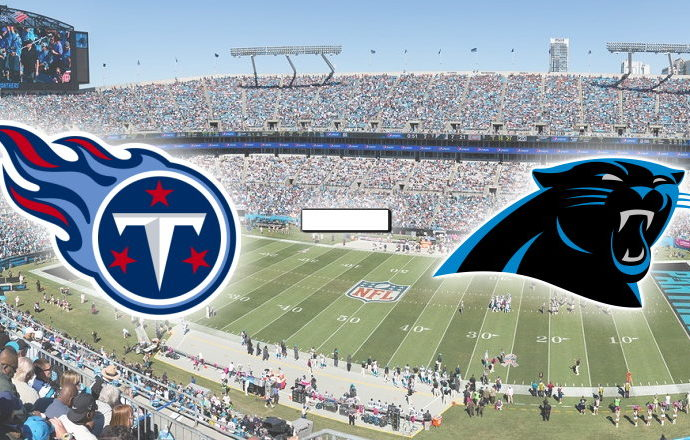 Titans at Panther NFL Betting Pick for 11/3/2019