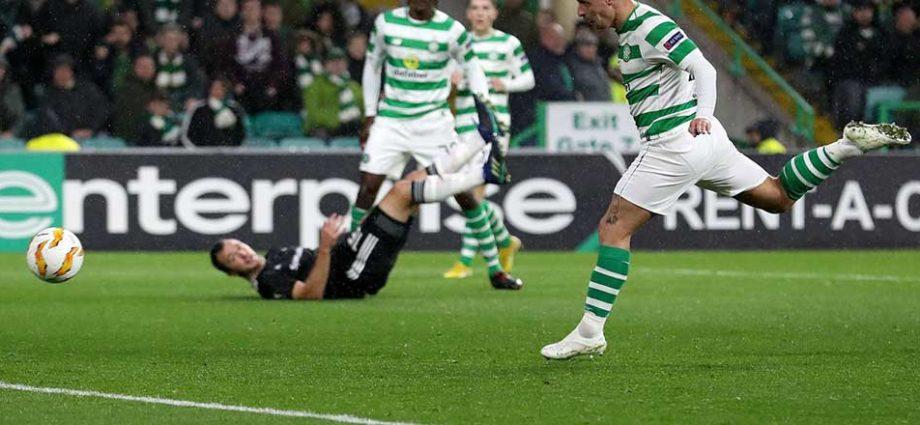 Celtic Griffiths Apologizes to Kilmarnock Fan