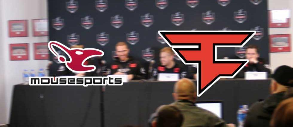 Mousesports vs Faze Clan – ESL One Betting Prediction