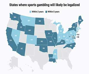 Virus Outbreak Can Lead States to Approve Gambling Expansion