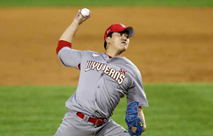 Wyverns Pitcher Got 1st KBO Win in Starting Debut