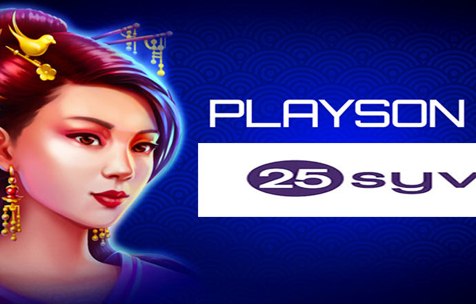 Playson Signs Content Integration Deal with 25syv