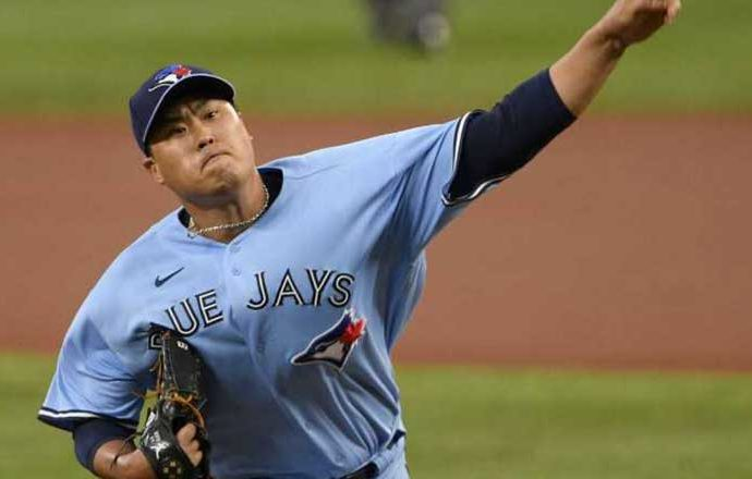 Blue Jays Ryu Hyun-Jin Takes No-Decision Against Orioles