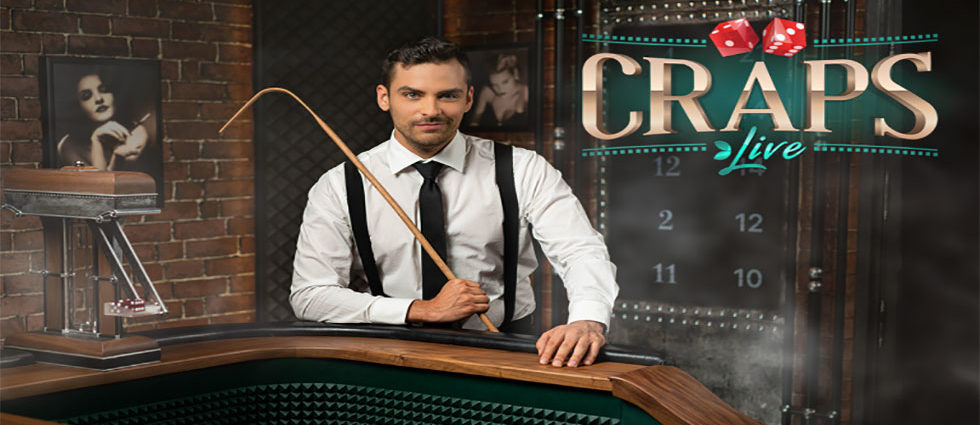First Online Live Craps Game from Evolution