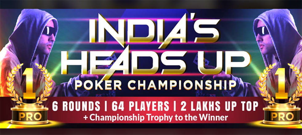 First Indian Heads Up Poker Championship