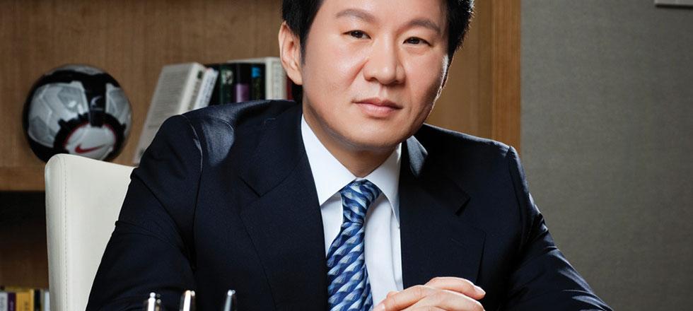 정몽규, 한국 축구 대표로 3 학기 우승
