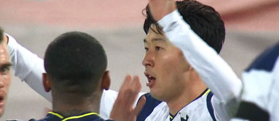 Son Heung-min Scored 11th Goal in 2020-2021 Premier League