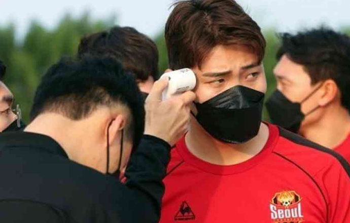FC Seoul Hwang Hyun-soo Infected with COVID-19