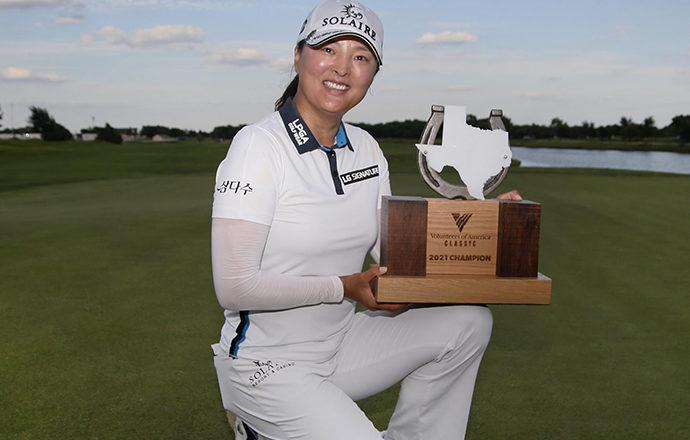 Ko Jin-young Earns First LPGA Win of the Season
