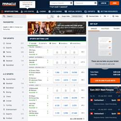 Pinnacle Sportsbook Review