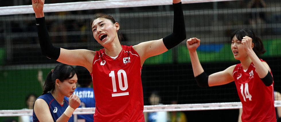 Volleyball Star Kim Yeon-koung Leaves Door Open for International Stint